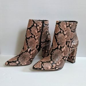 New! Call It Spring by Aldo Snake Print Ankle Boot